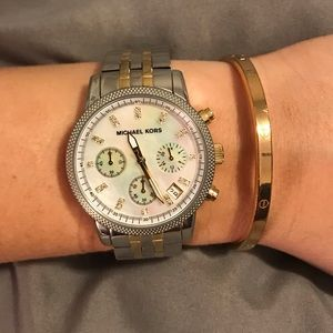 Michael Kors Classic Women's Chronograph Watch